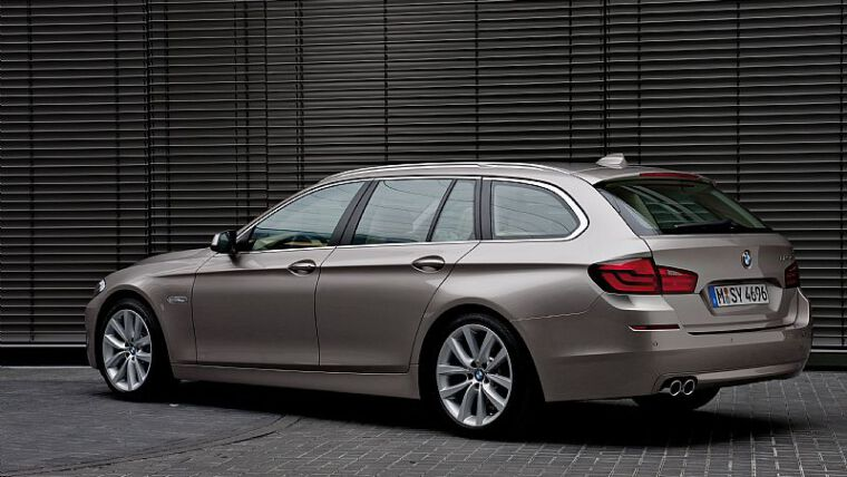 Yeni BMW 5 Serisi Touring Tanıtıldı